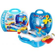 Inlea4Fun detský lekársky set v kufríku + 18 kusov príslušenstva Preview