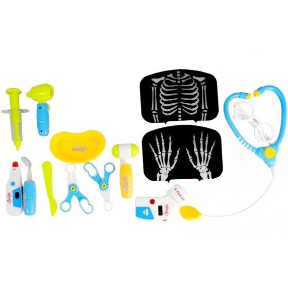 Inlea4Fun detský lekársky vozík + 22 kusov príslušenstva