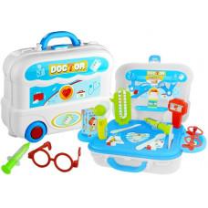 Inlea4Fun detský lekársky set v kufríku + 20 kusov príslušenstva Preview