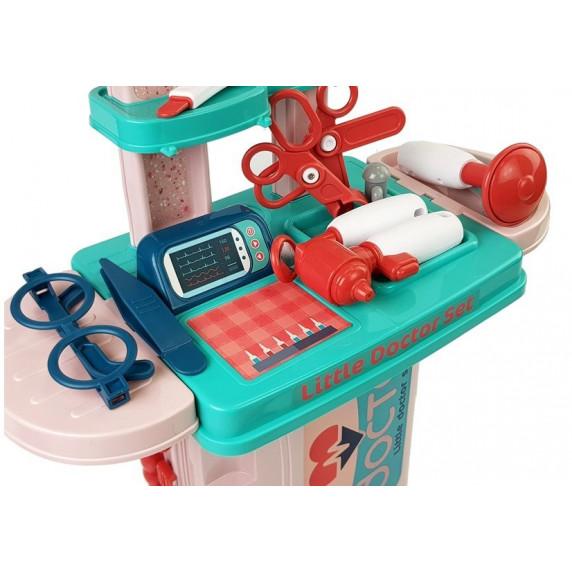 Inlea4Fun LITTLE DOCTOR Detský lekársky set v kufríku 3v1