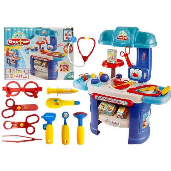 Inlea4Fun Detský lekársky stôl s príslušenstvom