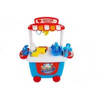 Inlea4Fun DOCTOR SET Detský lekársky vozík