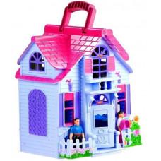 Inlea4Fun Country House Detský rozkladací domček s nábytkom a bábikami Preview