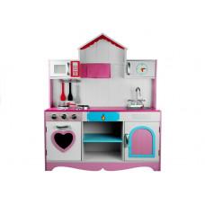 Inlea4Fun detská drevená kuchynka Marika Preview