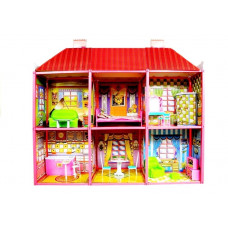 Domček pre bábiky Inlea4Fun VILLA Preview