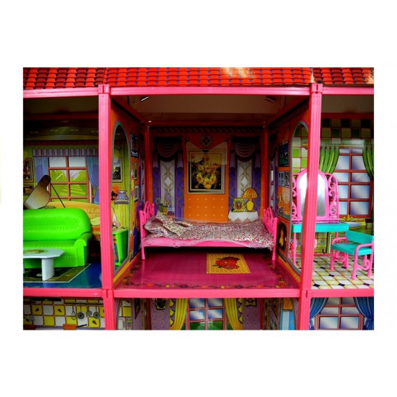 Domček pre bábiky Inlea4Fun VILLA