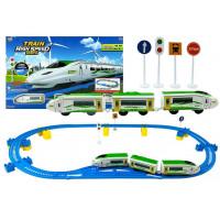 Vlaková trať s doplnkami Inlea4Fun TRAIN HIGH SPEED