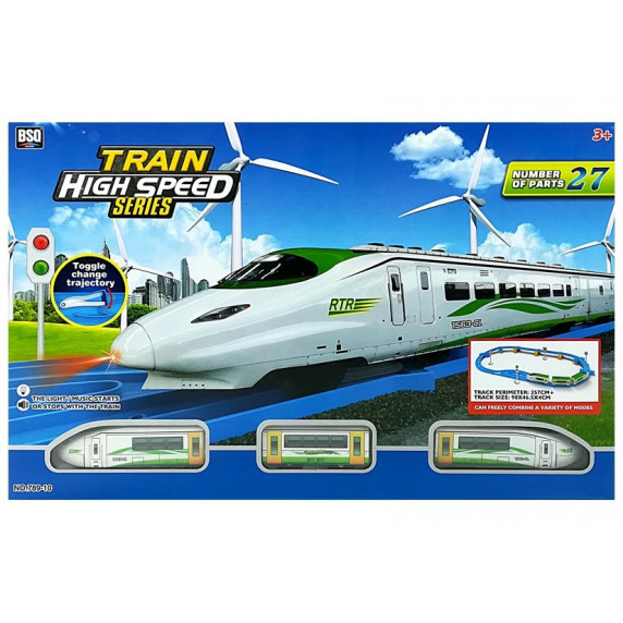 Inlea4Fun TRAIN HIGH SPEED Vlaková trať s doplnkami