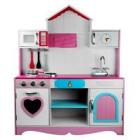 Inlea4Fun detská drevená kuchynka Marika