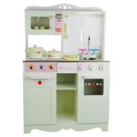 Inlea4Fun detská drevená kuchynka BIANKA