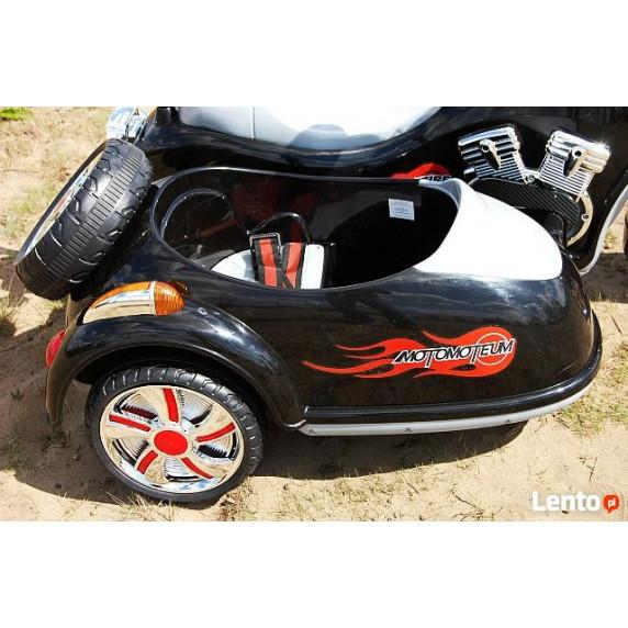 Inlea4Fun Elektrická motorka SX138 - čierna