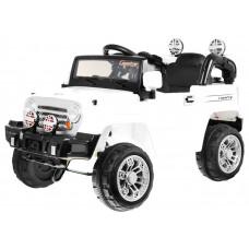 JEEP JJ245 Elektrické autíčko - Biele Preview