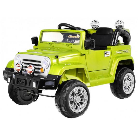 JEEP JJ245 Elektrické autíčko - Zelené