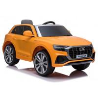Elektrické autíčko lakované AUDI Q8 JJ2066 - oranžové