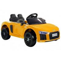 Elektrické autíčko AUDI R8 Spyder - žlté