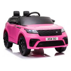 Elektrické autíčko lakované RANGE ROVER - ružové Preview