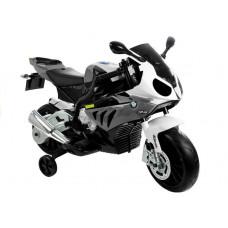 BMW S1000 RR Detská elektrická motorka - sivá Preview