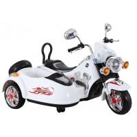 Inlea4Fun Elektrická motorka SX138 - biela