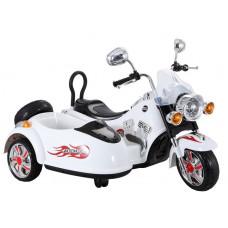 Inlea4Fun Elektrická motorka SX138 - biela Preview