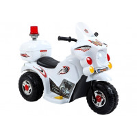 Inlea4Fun LL999 elektrická motorka - biela