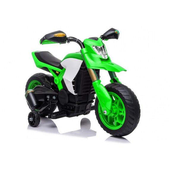 Elektrická motorka LITTLE RACER TR1909 Inlea4Fun - zelená