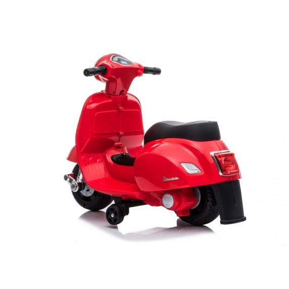 Elektrická motorka Inlea4Fun VESPA GTS 300 Mini - červená