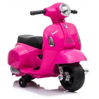 Inlea4Fun Elektrická motorka VESPA GTS 300 Mini - ružová