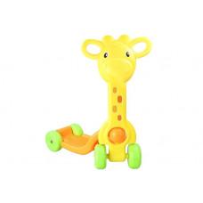 Detská kolobežka Inlea4Fun SCOOTER -  žirafa Preview