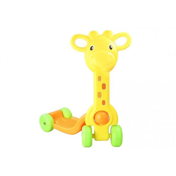 Detská kolobežka Inlea4Fun SCOOTER -  žirafa