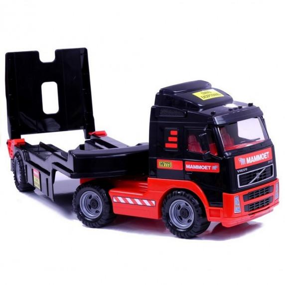 VOLVO MAMMOET nákladné auto s bágrom 90 cm