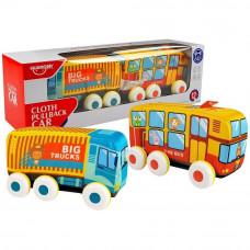 Detský autobus a nákladné vozidlo HUANGER  Preview