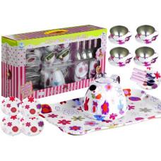 Detská čajová súprava s kvetinkami Inlea4Fun CHILDREN´S TEA SET  Preview