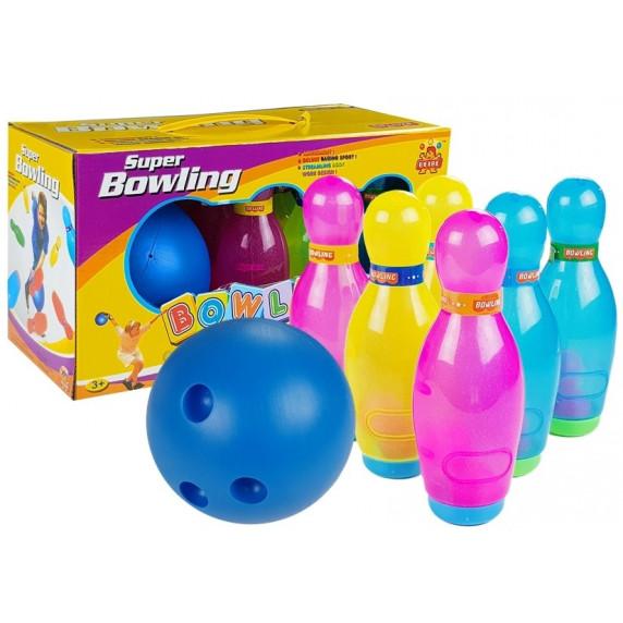 Inlea4Fun SUPER BOWLING Farebný detský bowling
