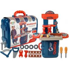 Detská dielňa s náradím v kufríku 3v1 Inlea4Fun WORKBENCH  Preview