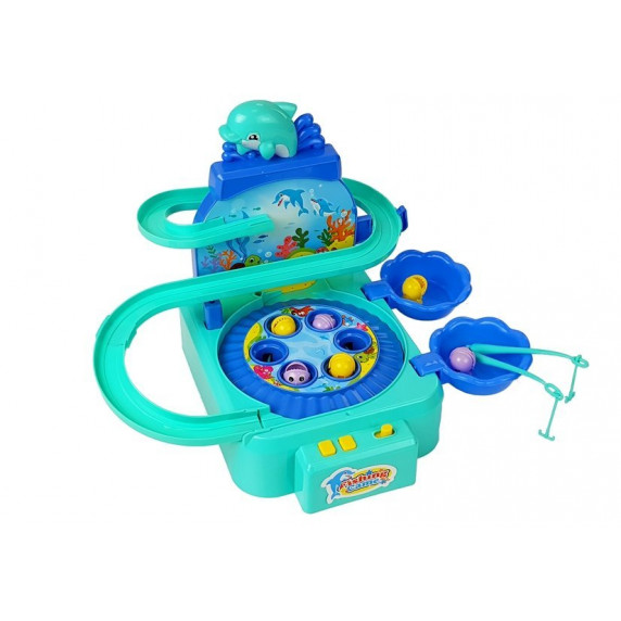 Detský rybársky set Inlea4Fun DOLPHIN PARK  - modrý