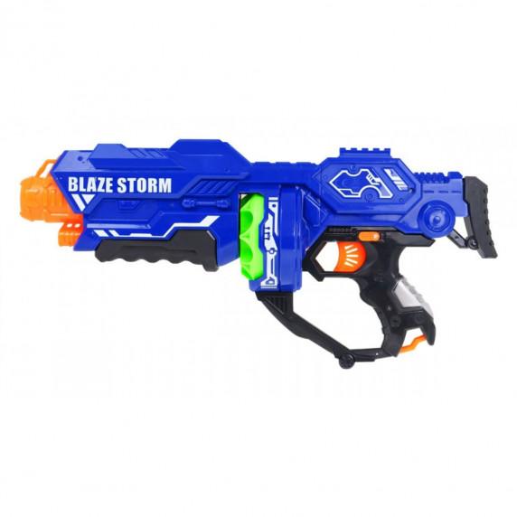 Detská pištoľ s penovými guličkami Inlea4Fun BLAZE STORM - modrá