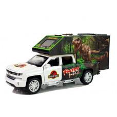 Auto dinosaurus so svetelnými a zvukovými efektmi Inlea4Fun DINOSAUR WORLD - biele Preview