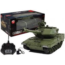Inlea4Fun RC COMBAT ZONE Tank na diaľkové ovládanie 1:28 - zelený Preview