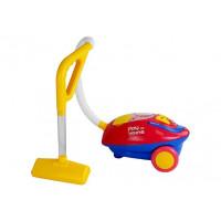 Detský zvukový vysávač Inlea4Fun  PLAY AT HOME - červený/žltý
