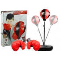Inlea4Fun PUNCHING BALL -set na trénovanie boxu