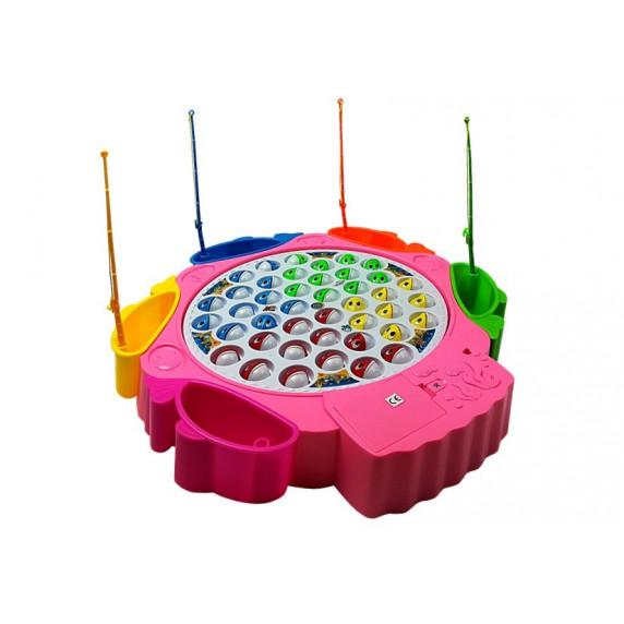 Inlea4Fun ANGLING BABY Detský rybársky set - Ružový