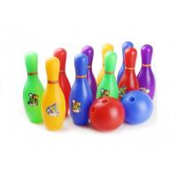 Detský farebný bowling set Inlea4Fun ENERGESIS