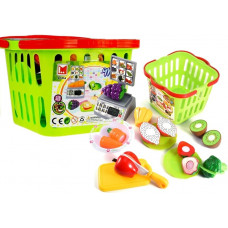 Inlea4Fun LIMA No.686 Nákupný košík so zeleninou na krájanie a váhou Preview