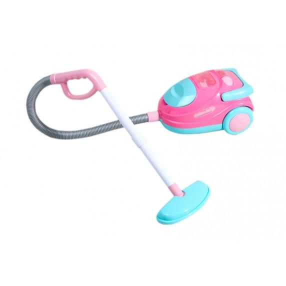 Detský vysávač Inlea4Fun VACUUM CLEANER - ružovo/tyrkysový