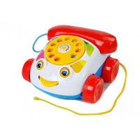 Detský pevný telefón na kolieskach Inlea4Fun PUZZLE PHONE
