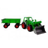Inlea4Fun FARMER 8817 Detský traktor s vlečkou