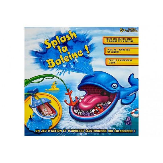 Inlea4Fun SPLASH LA BALEINE Striekajúca veľryba na batérie