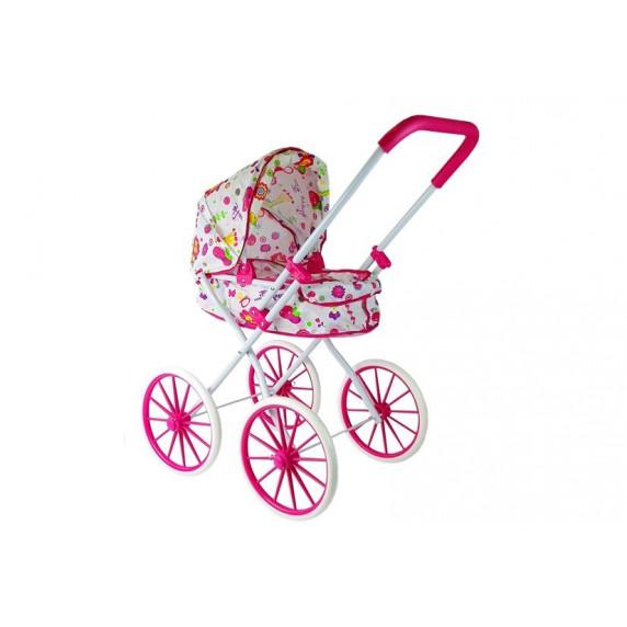 Detský kočík pre bábiky RETRO BIG WHEELS Inlea4Fun