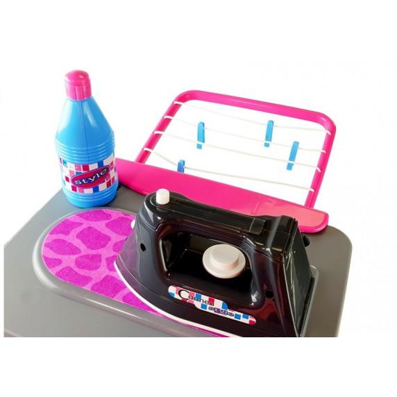 Inlea4Fun CARMEN Detská práčka so žehličkou