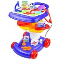 Inlea4Fun detský lekársky vozík + 27 kusov príslušenstva